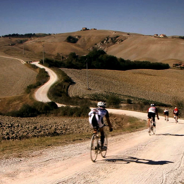 Tuscany gravel road