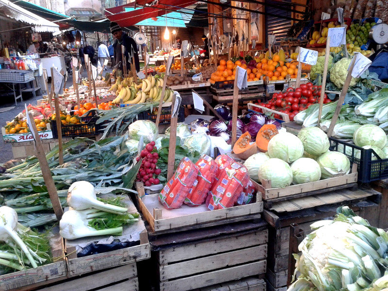 Palermo and its markets