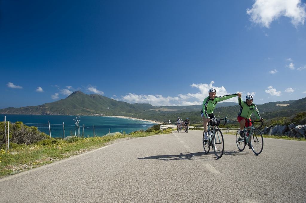 Cycling guides in Sardinia