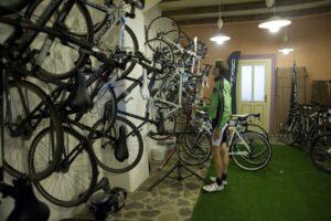 A bike garage