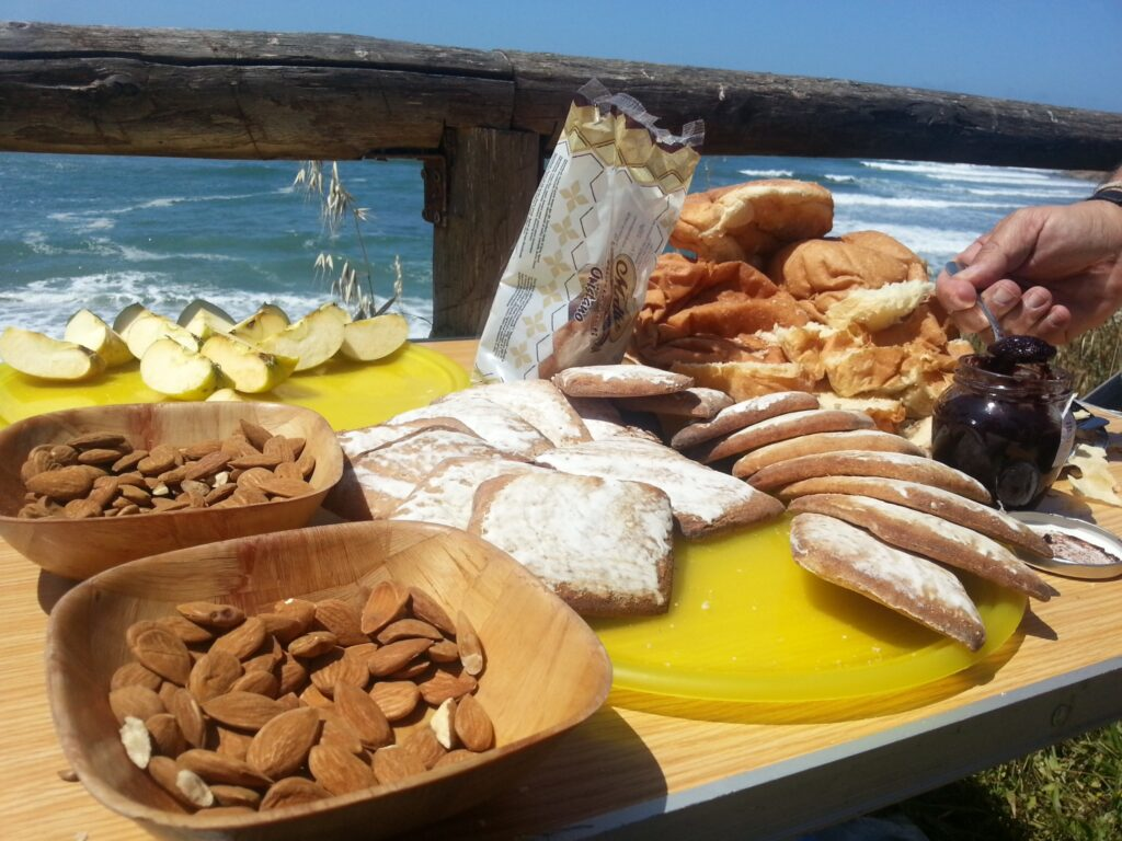 A pic nic by the sea in Sardinia