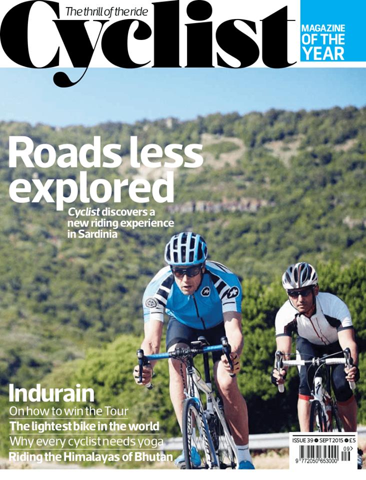 Cyclist Sardinia Cover