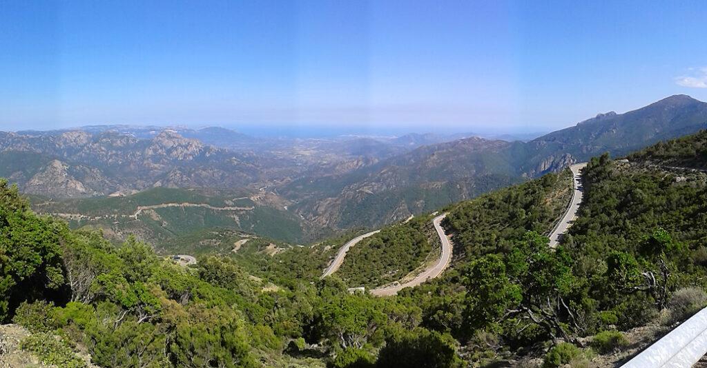 Talana Climb in Sardinia