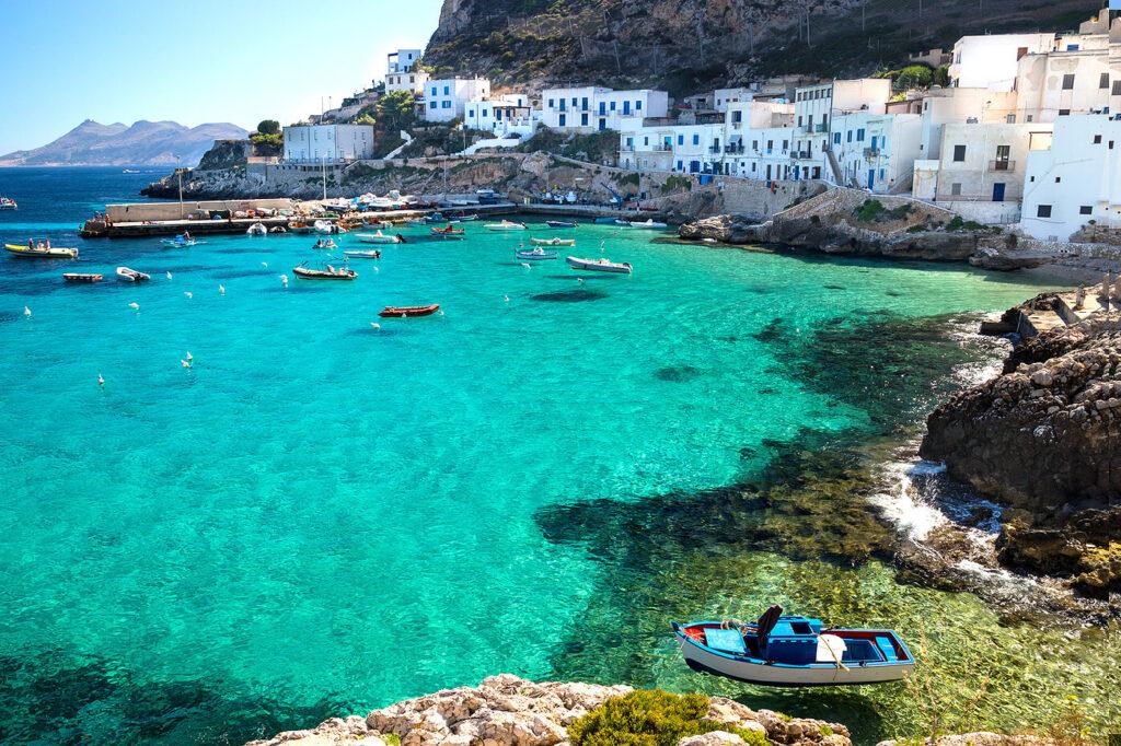 Favignana in Sicily