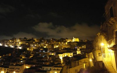 Ragusa by night