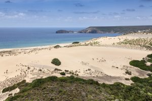 The dune of Piscinas
