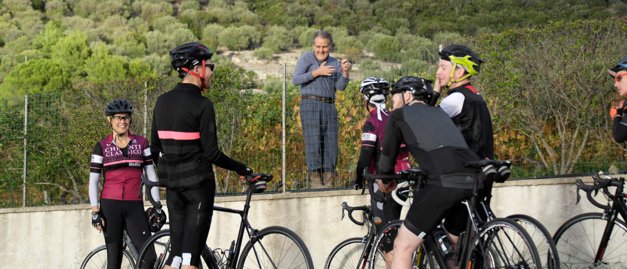Cycling and wine in Bosa Sardinia