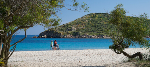 Sardinia, the Tuerredda beach