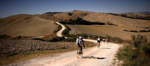 Strade Bianche, Gravel road in Tuscany